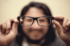 Day 99/365 - 20/20 Vision (EMIV) Tags: canon glasses bokeh 5d 12 430ex 50l