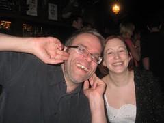 Chris and Bonnie (hatapota) Tags: leavingdrinks chrispaton craichouse ncvoit