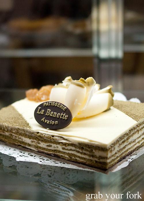la banette green tea cake dessert