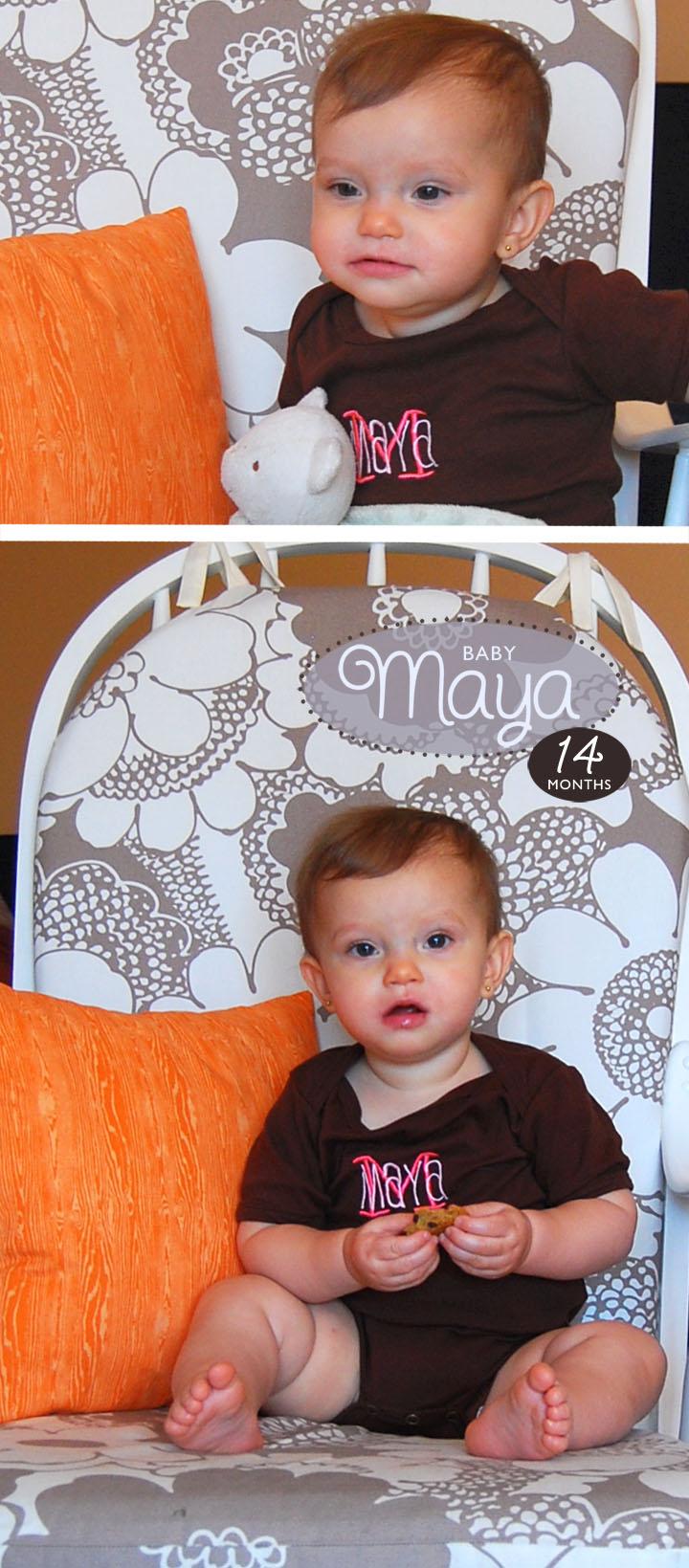 Maya 14 Months