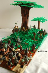 Burning Forest - Lotr (Legoorci) Tags: plant tree rock landscape fight lego earth group attack burn weapon reiter mission warrior lordoftherings raid rider tolkien rohan orc middleearth orks elves elfen mordor ork orcs elben angreifen rohirrim brownlands legoorcs legoforest legoorci legoelves lotrlego lordoftheringslego braunelande forourlotrgroupmissionmissionone burningforestmyorcsaretryingtogetintotheforest killeverymovingtargetandthenburnitsomerohirrimandelvestrytostopthem whowillsucced