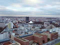 Panoramapunkt,Berlin (ott1004) Tags: panoramapunktpotsdamerplatzberlin 베를린파노라마빌딩 ponorampunkt berlin 콜호프타워 템포드롬 홀로코스트기념비 콘크리드기둥2700개 소니센터 필하모니 티비타워 브란덴브루크토어
