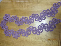 Filigree Scarf Finished