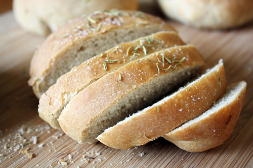rosemary peasant bread.