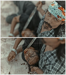 Bunohan The Series. (Kupih) Tags: sea sky cloud beach movie drag insane crazy blood sand killing traditional victim dramatic tie killer malaysia zul killed concept tied conceptual cinematography riverbank cinematic sick jealousy parang terengganu fakeplastictree batik vulgar cruel isang bloodshed heartless cinemaphotography phsyco handtied setiu kupih leicam9 hafizahmadmokhtar tjlens carlzeissbiogont25mm28 bunohan