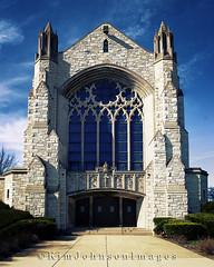 Holy Angels Catholic Church - Gary Indiana (Kim Johnson Images) Tags: urban usa church stone catholic churches holy angels garyindiana