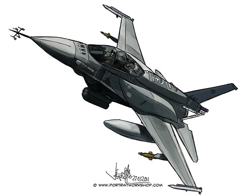 F-16 illustration