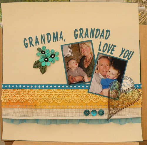 Grandma, Grandad Love you