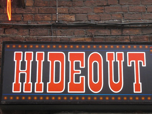 hideout! by charity shopper