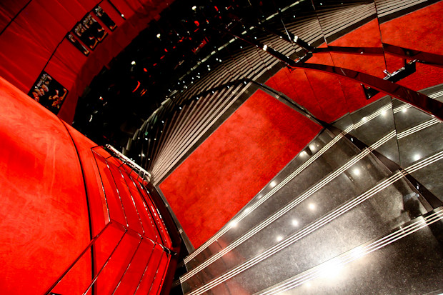 Stairs Leading Down to L'Atelier de Joel Robuchon Etoile