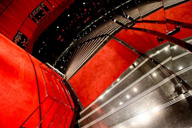 Stairs Leading Down to L'Atelier de Joel Robuchon Etoile
