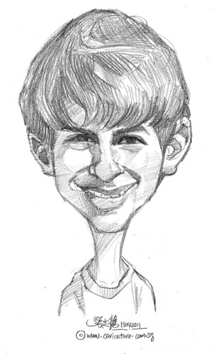 caricature in pencil - 51