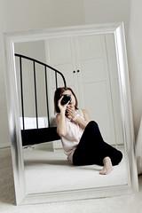 For the Divas and Dreams self-portrait contest (Kasiak_K) Tags: white canon mirror selfie meandmycamera theshutterdivas