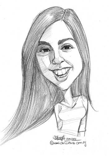 caricature in pencil - 53