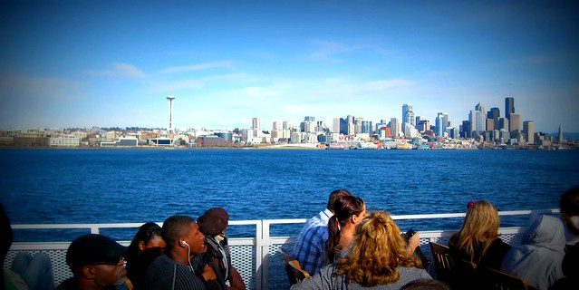 Seattle from the boat