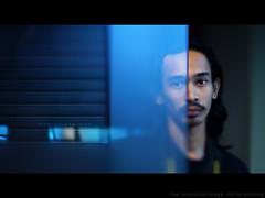DSC00022 - Ye Wook... Bakpe?... (AquariusVII) Tags: blue face mirror malaysia letterbox kuala 169 tj terengganu 43 hafiz d3000 yellowstrap freelense aquariusvii samyang85mmf14aspherical sonynex5 tjlens