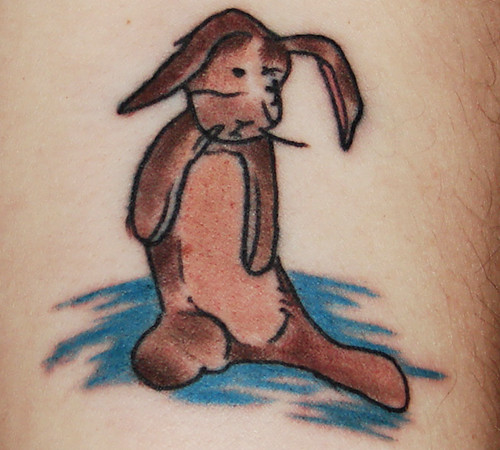velveteen rabbit tattoo LOVE my new ink