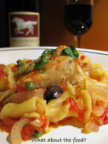 Mahi recipes food and wine Hawaiian Mahi Mahi Alla Puttanesca And A Little Orange Zest What About The Food