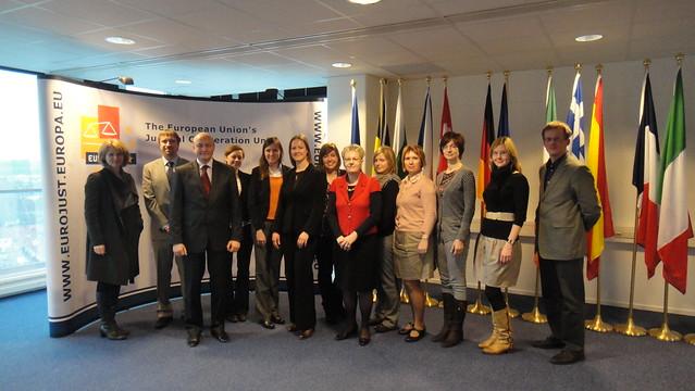 Välisministeeriumi juristid Eurojustis