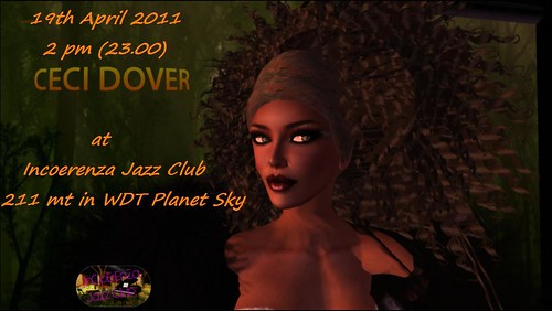 19-4-11 The Tuesday of Incoerenza Jazz Club with CECi Dover  by Alice Mastroianni
