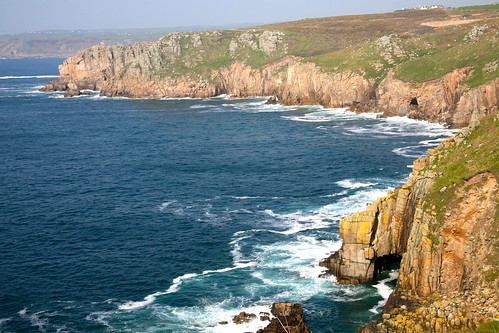 Land's End coastline