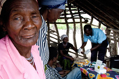World Malaria Day: Rapid diagnostic testing (Christian Aid Images) Tags: poverty health elderly impact nets disease malaria worldmalariaday