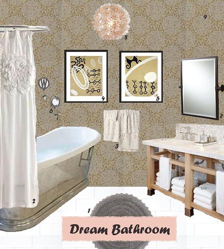 Dream Bathroom: Julip Made: Monday (ish) Moodboard... Dream Bathroom