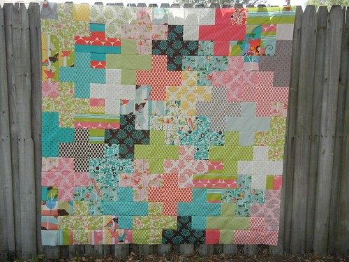 Supernova Quilt back - a Plus quilt