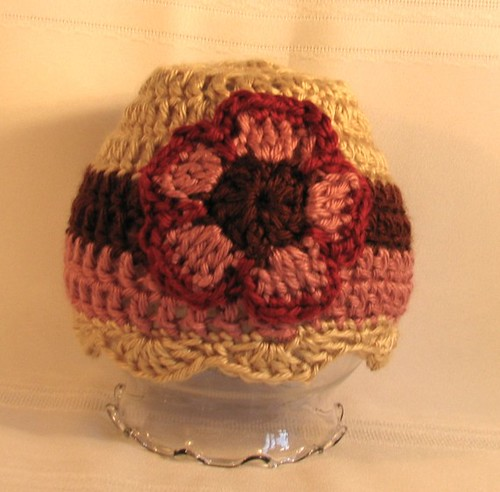 Cute Crochet Baby Hat with Flower