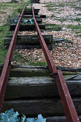 dungeness railway track (jane_546) Tags: canon dungeness dereliction railwaytracks