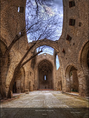 Eglise Santa Maria dello Spasimo (Girolamo's HDR photos) Tags: light sky italy tree church architecture canon photography ruins interior palermo oldchurch hdr girolamo photomatix tonemapping spasimo santamariadellospasimo canoneos50d cracchiolo omalorig wwwomalorigcom