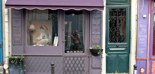 Shop Window Reflection