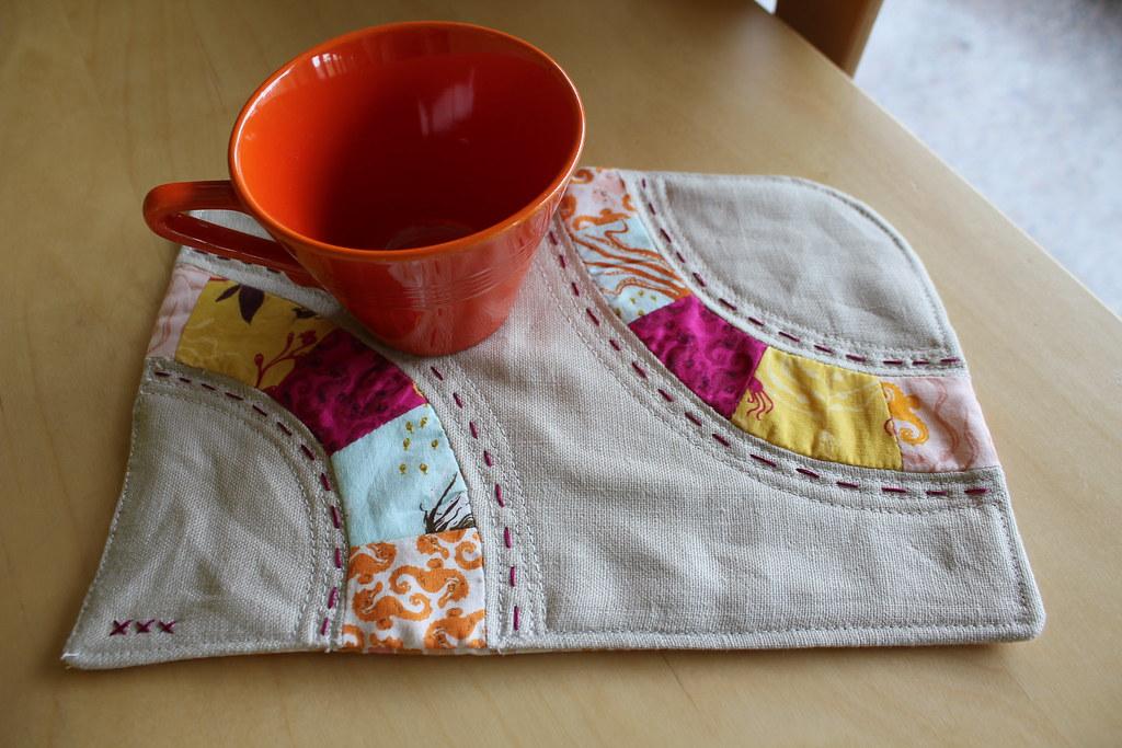 mug rug (for Ruth)