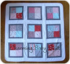 Charming Baby Quilt TITLE