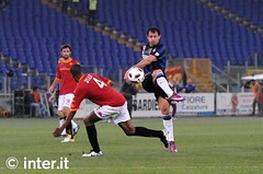 Roma-Inter 0-1: rete di Stankovic