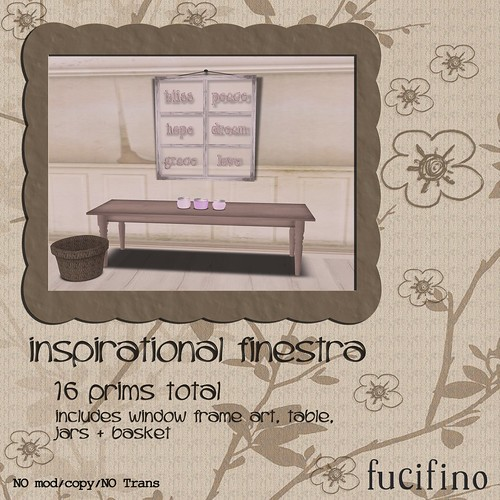 [fucifino] inspirational finestra (Moody Mondays Week 3)