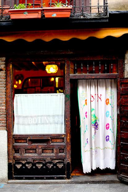 Restaurant Botin Old Entrance