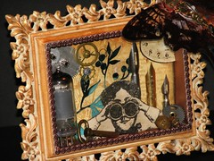 Alarm Clock Steampunk Collage 023