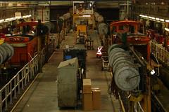 Sister Switchers (trainfixer2) Tags: shop switch diesel engine minneapolis electro locomotive motive division mn bnsf emd northtown mp15 minnesita