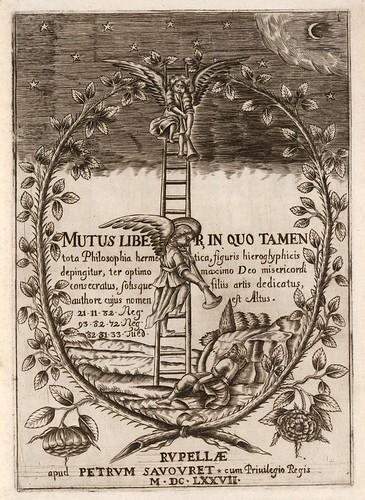 001-Mutus Liber 1677- La Rochelles- Petrum Savovret-Bibliothèque Électronique Suisse