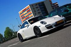 Carrera Four Sport (Pascallll) Tags: city white easter porsche911 blackrims germansupercar ptrphotography ptrphototk