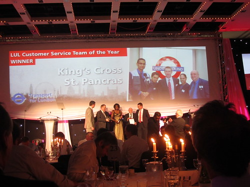 Kings Cross St Pancras LUL Customer Service Team of the Year