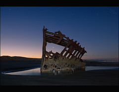 Night to Day..... (Andrew Kumler) Tags: oregon coast andrew peter shipwreck iredale kumler