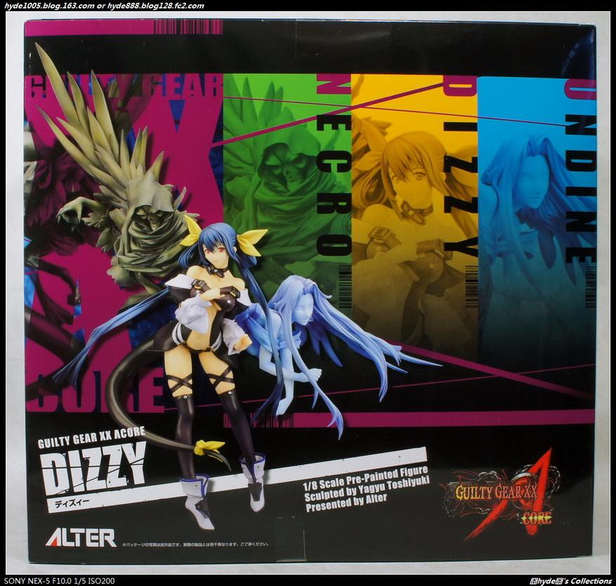 【ALTER】GUILTY GEAR XX  ΛCORE DIZZY 1/8 PVC Figure - hyde -     囧HYDE囧の御宅部屋