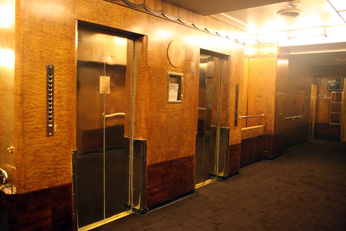 Queen Mary - Aft Elevators (Sealed Shut) - Promenade Deck