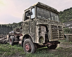 Foden (Timster1973 - thanks for the 6 million views!) Tags: southwales wales trash rust rusty urbanexploration scrapyard wreck scrap derelict desolation spareparts urbex onemanstrashisanothermanstreasure