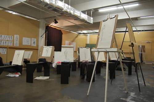 Figure Drawing Classroom