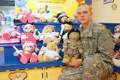 General Sarge - PVT Jeffrey - Graduation Bears