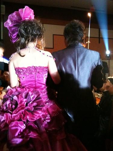 勝則さん結婚式