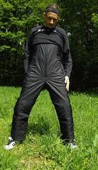 IMGP0502 (Karhu1) Tags: snow shiny suit glossy sweat nylon spandex sauna rainwear pvc leggings snowsuit overall
